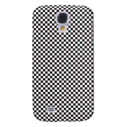 Checkered Pattern Samsung Galaxy S4 Covers
