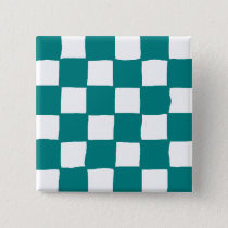 checkered pattern (teal) button