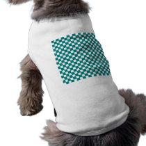 checkered pattern (teal) T-Shirt
