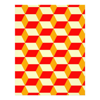 CHECKERED PERSONALIZED LETTERHEAD