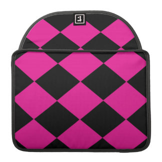 Checkered (Pink & Black) Sleeve For MacBook Pro