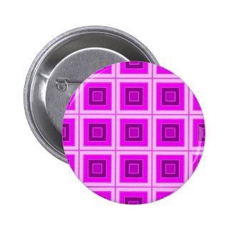 Checkered pink purple pin