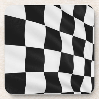 Checkered Race Flag Coasters