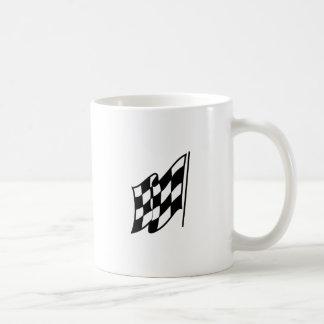 Checkered Racing Flag Coffee Mug
