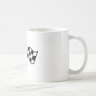 Checkered Racing Flags Coffee Mug