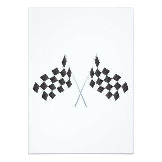 checkered racing flags graphic card