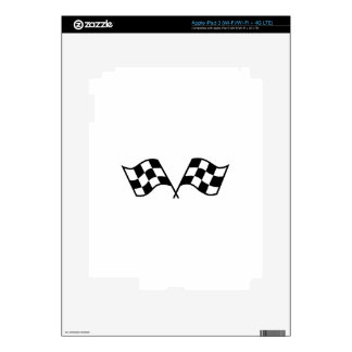 Checkered Racing Flags iPad 3 Skin