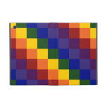 Checkered Rainbow iPad Mini Cases
