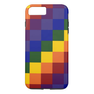 Checkered Rainbow iPhone 7 Plus Tough Case