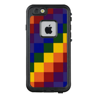 Checkered Rainbow LGBT Pattern LifeProof® FRĒ® iPhone 6/6s Case