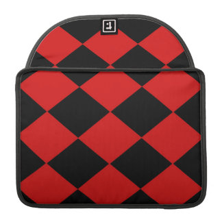Checkered (Red & Black) MacBook Pro Sleeves