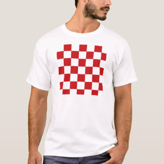 Checkered Red T-Shirt