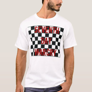 checkered, Seventh Day Warcry T-Shirt