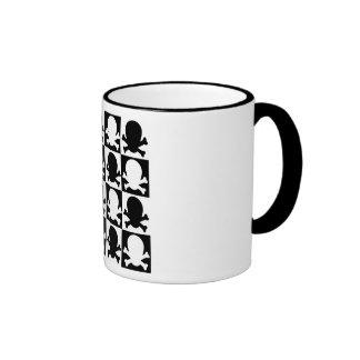 Checkered Skulls Mug