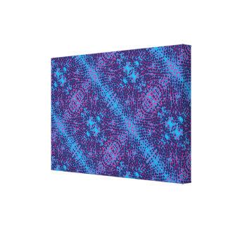 Checkered Snake Skin Canvas Print