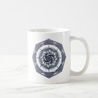 Checkered Star Mandala Coffee/Tea Mug