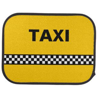 Checkered Taxi Mats