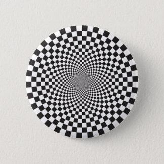 Checkered Trip Pinback Button