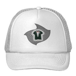 Checkered Tux Hat