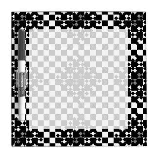 Checkered Twist by Kenneth Yoncich Dry-Erase Board