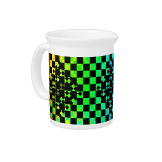 Checkered Twist by Kenneth Yoncich Pitcher