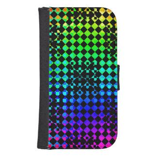 Checkered Twist Galaxy S4 Wallets