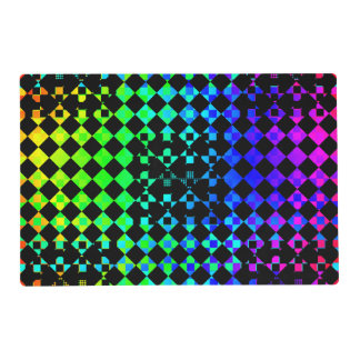Checkered Twist Placemat