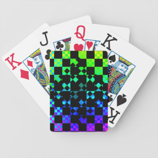 Checkered Twist Playing Cards