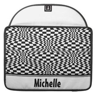 Checkered Warp Sleeve For MacBook Pro