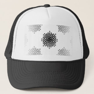 Checkered Wheels by Kenneth Yoncich Trucker Hat