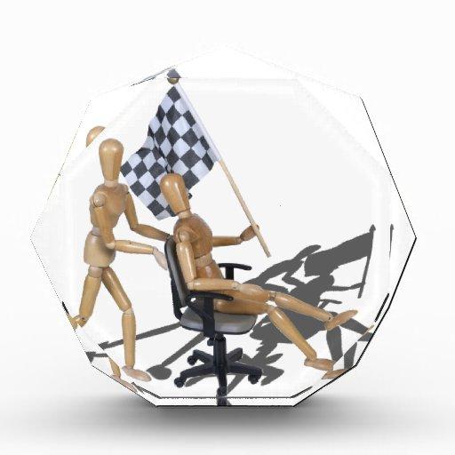 CheckeredFlagChairRaces090912.png Acrylic Award