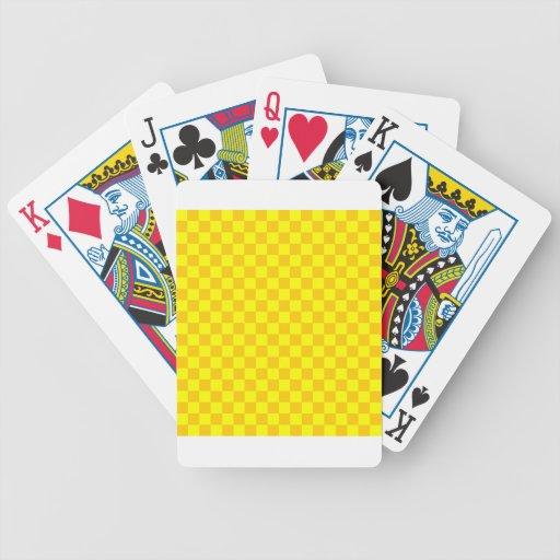 CheckeredLarge-Yellow1-Yellow y amarillo de la man Barajas