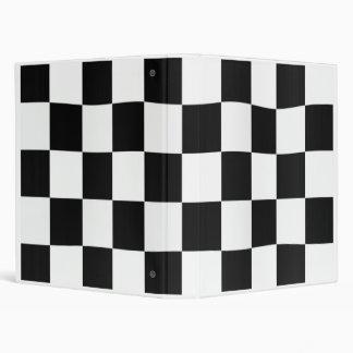 CheckeredWavyBinder 3 Ring Binder