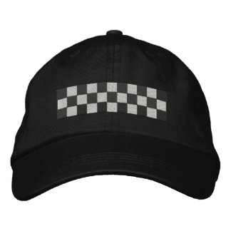 Checkers Embroidered Baseball Cap