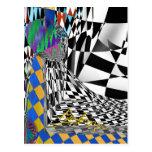 Checkers Galore 7 Postcard
