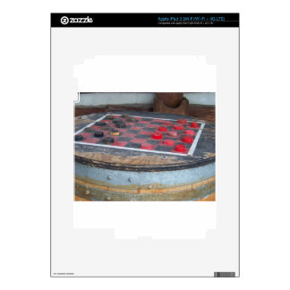 Checkers Game Decal For iPad 3