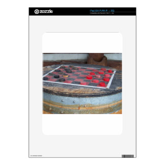 Checkers Game iPad Decal