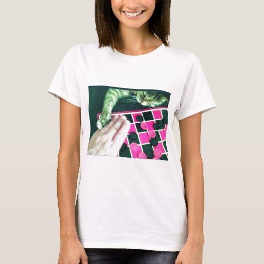Checkers kitty! T-Shirt