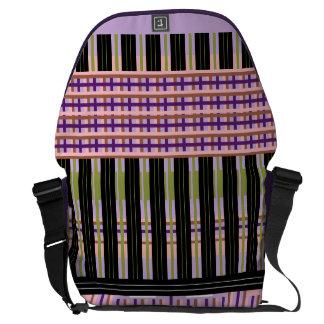 Checkers Off Board - a Jump Messenger Bag