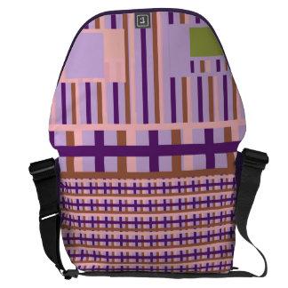 Checkers Off Board Messenger Bag