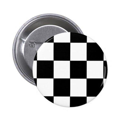 Checkers Pinback Button