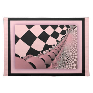 Checkers The Mechanical Mouse Tail Cloth Placemat