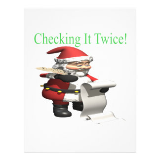 Checking It Twice Flyers