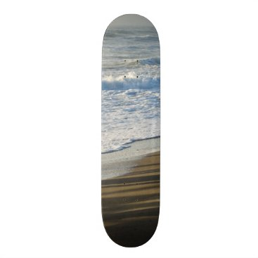 Beach Themed Checking The Shoreline Skateboard