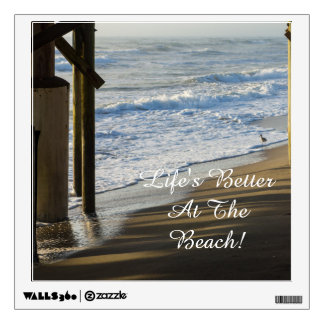Checking The Shoreline Wall Decal