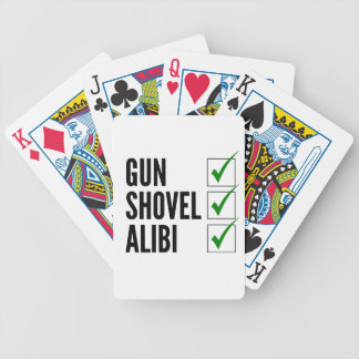 Checklist Bicycle Playing Cards