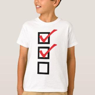 checklist icon T-Shirt