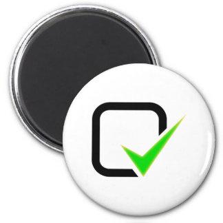 Checkmark Sign Magnets