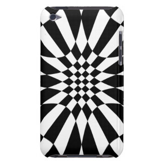 Checkmate-Black and White iPod Case-Mate Case
