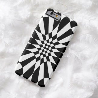 Checkmate-Black and White Pattern Barely There iPhone 6 Case